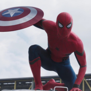 Spiderman cameos in new Captain America: Civil War trailer!