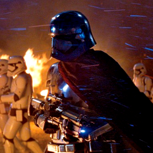 Star Wars: The Force Awakens opening moments?
