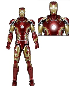 NECA Reveals 1/4 Scale Age of Ultron Iron Man Figure