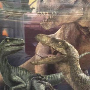 Incredible New 3D Jurassic World Poster Discovered!