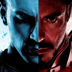 Robert Downey Jr and Anthony Mackie Talk About Captain America: Civil War!