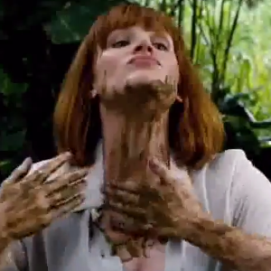 Claire Goes Digging in Dino Droppings in Latest Jurassic World TV Spot!