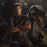 Colin Trevorrow Reveals New Animatronic Raptor Jurassic World Movie Still!
