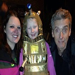 Peter Capaldi reassures a young fan that he will 'Look after Doctor Who'