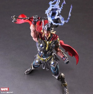 Play Arts Variant Thor Revealed