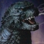 Another Godzilla (2014) poster showing a full body shot of Godzilla revealed!