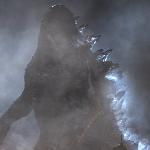 Godzilla Prepares Atomic Breath in New Godzilla 2014 Movie Still