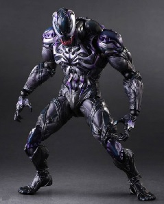 Play Arts Kai Venom Revealed