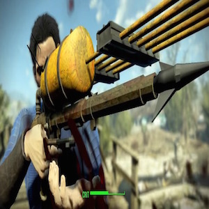 Fallout 4 modder discovers underwater developer weapon!