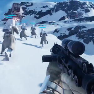 Epic Star Wars Battlefront Gameplay Trailers From E3!