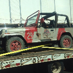 Original Jurassic Park Jeep Spotted Heading for Jurassic World?