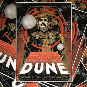 Limited Edition Jodorowsky's Dune Poster!