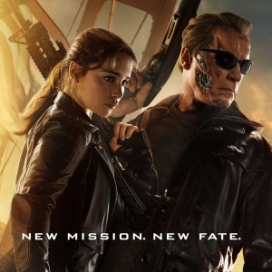 Sarah Connor and Arnold Schwarzenegger's T-800 Adorn New Terinator Genisys Poster!