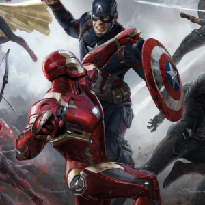 Captain America: Civil War concept art pits Marvels heroes against each other!