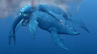 The uncooked shrimps when the titanic went down Vs. Pliosaurus (Predator x) (EAB Bonus Battle)