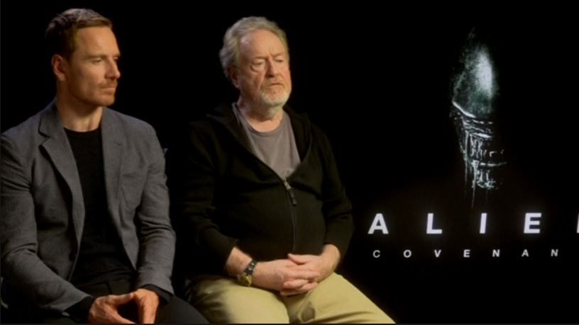 Brief REUTERS video with some cast & Ridley interviews: