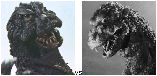 GODZILLA DESIGN TOURNAMENT - Round 11 - 1964a vs. 1954
