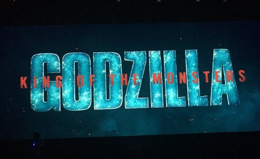 New Godzilla: King of the Monsters logo debuts at SDCC!