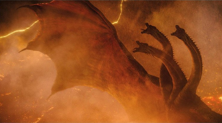 Can Ghidorah fly in the monsterverse?