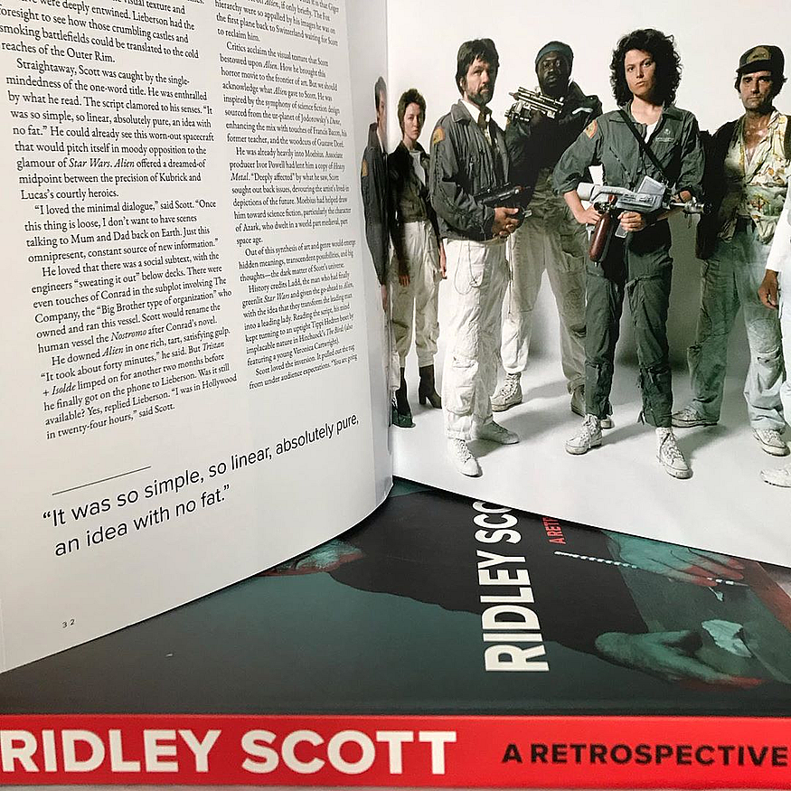 Ridley Scott A Retrospective Pre-order by Ian Nathan
