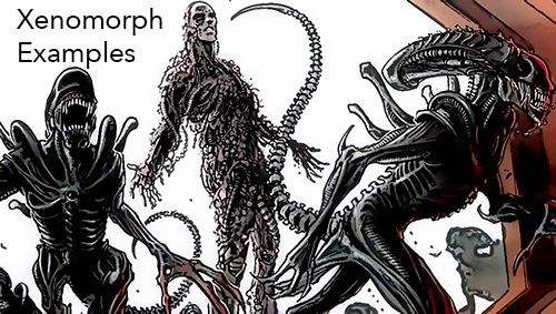 Xenomorph Examples by Planet or Platform and Year