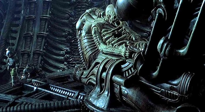 Alien: Isolation (the novelization) and the Space Jockey