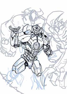 Jaeger WIP, does anyone want to help me with color?
