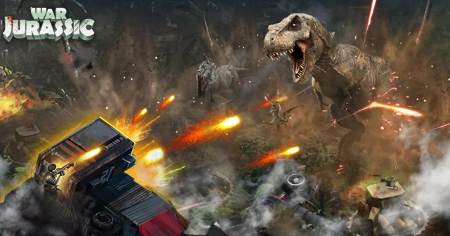 Jurassic War mobile game?