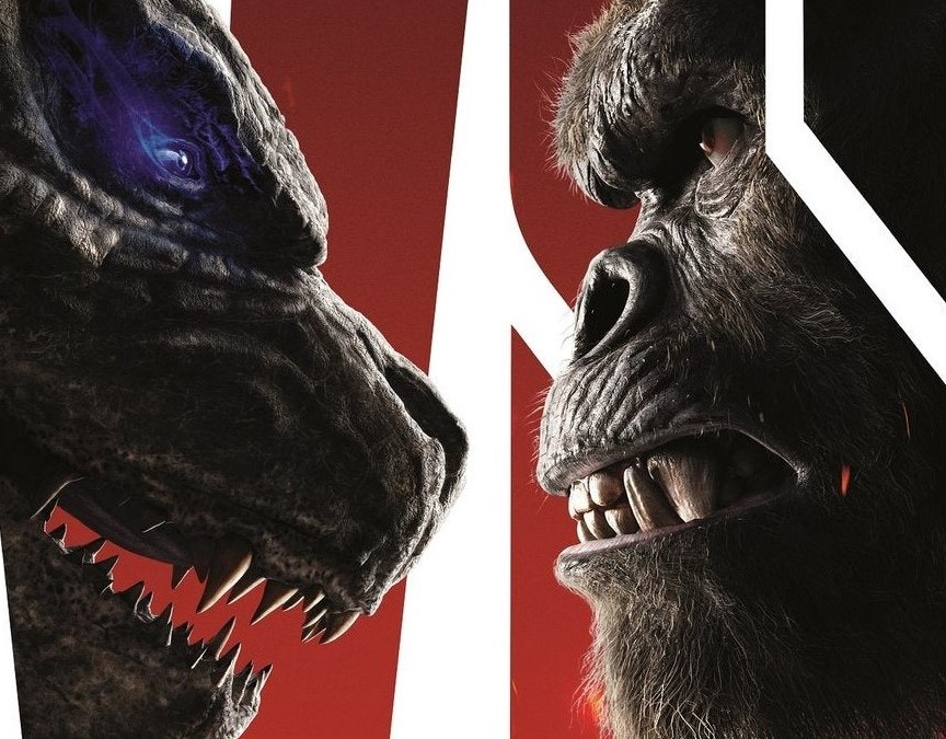 This masterpiece is possibly my best fan-made Godzilla Vs. Kong poster yet...