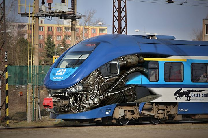 The Xenomorph Train