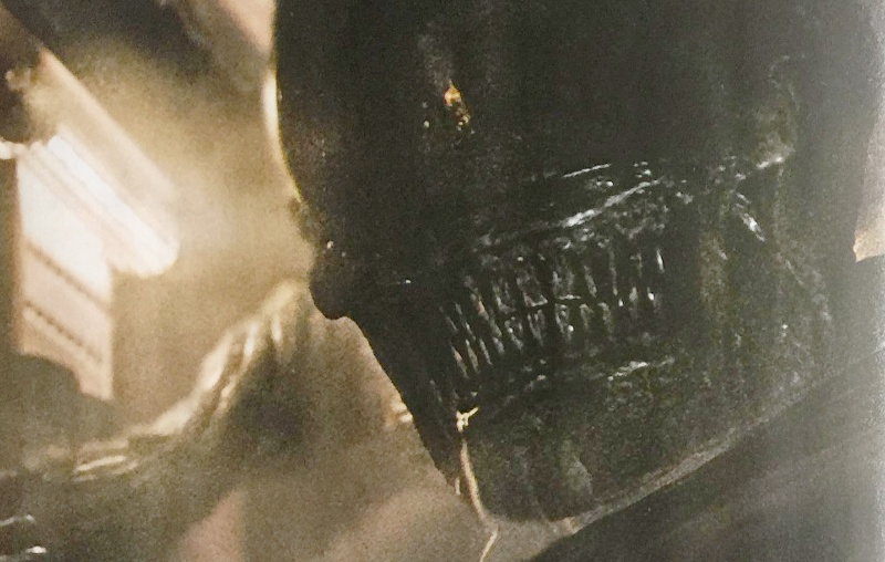 New Shots of the New Alien and the Adult Neomorph in Alien: Covenant