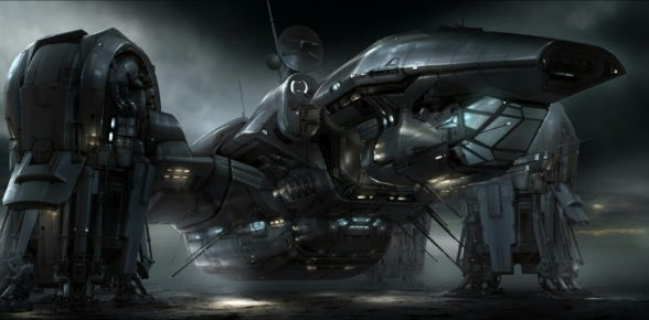 Is the Covenant ship in Alien: Covenant less advanced than thethe vessel in Prometheus?
