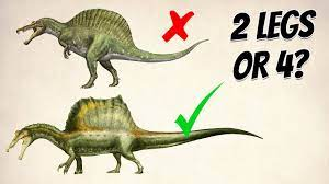 Spinosaurus: Quadrupedal or Bipedal? (Which one do you like more?)