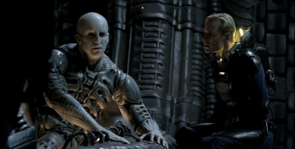 Engineers in Prometheus Genetically Altered for Space Travel?