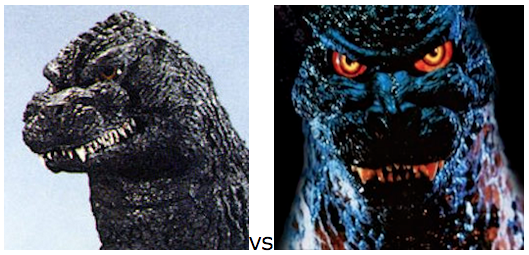 GODZILLA DESIGN TOURNAMENT - Round 22 - 1991 vs. 1995