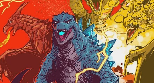 Godzilla: King of the Monsters fan art spotlight: Daikaiju Daikessen