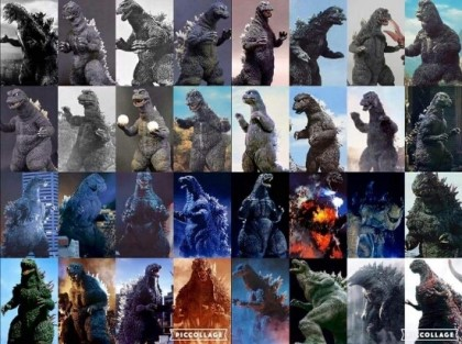 What are your top 5 favorite Godzilla suits/designs?