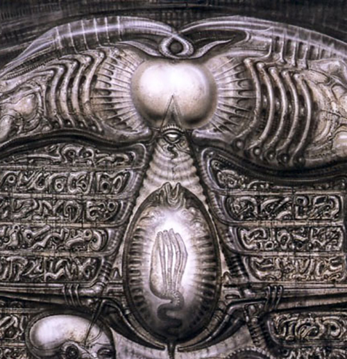 H. R. Giger Ovomorph: Black Goo is Cameron's Queen Part 2