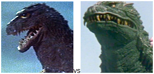 GODZILLA DESIGN TOURNAMENT - Round 6 - 1962 vs. 2000