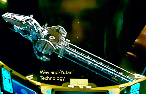 Weyland-Yutani Corporation Technology (animated format)