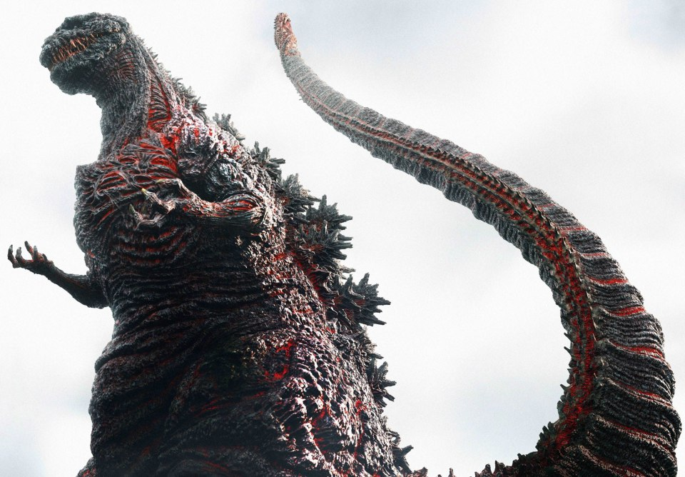 When does Shin Godzilla come out on DVD/BluRay?