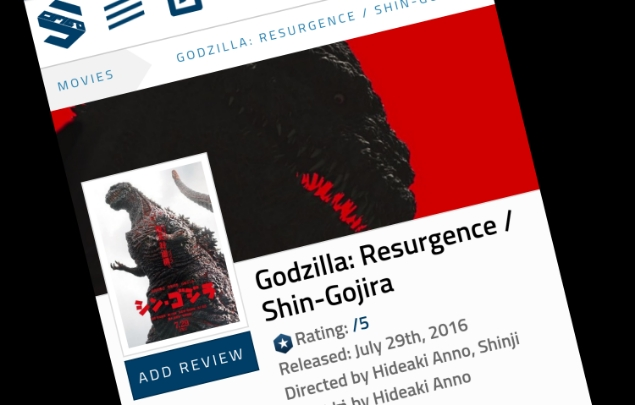 You can now review Shin Godzilla on Scified!