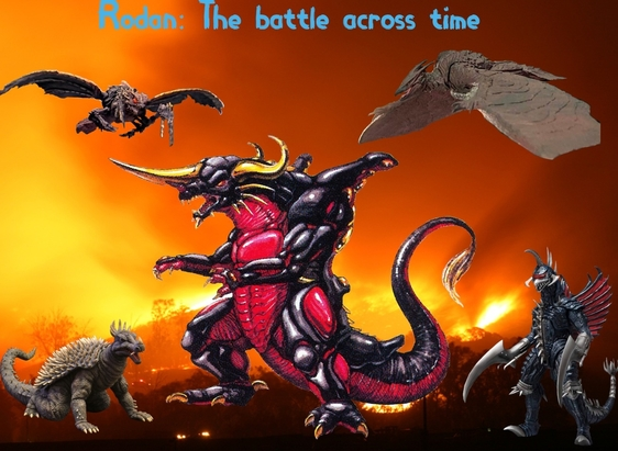 Rodan: The battle across time