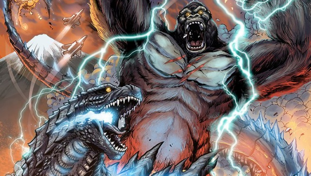 Matt Frank shares Godzilla vs. Kong artwork!