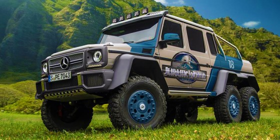 Vehicles used in Jurassic World