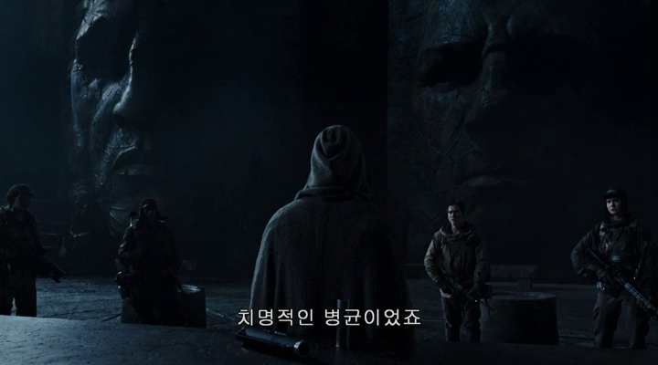Resemblance of the stone-faces to Prometheus?