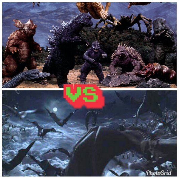 Can Monster Island survive a Gyaos swarm????