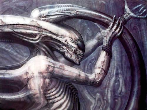Giger's Necronom IV appears on Alien: Covenant Clapperboard! (UPDATED)