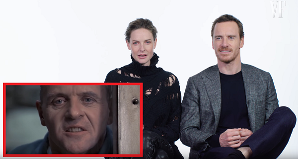Michael Fassbender used Hannibal Lecter as a reference for David.