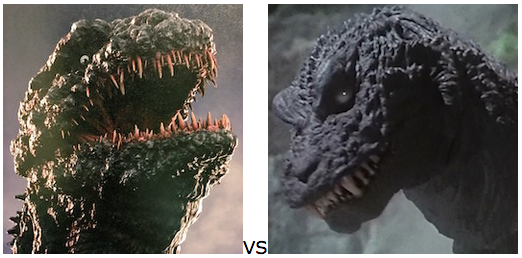GODZILLA DESIGN TOURNAMENT - Round 12 - 2016 vs. 2001
